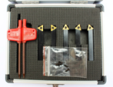 Mini 5PC Indexable Carbide Turning Tool Set