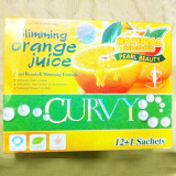 Curvy Sliimming Orange Juice with Good Taste