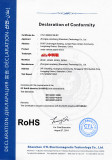 ROHS Certificate of under vehicle search mirror
