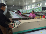 Production workflow of silk printing