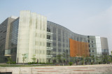 Connected glass curtain wall,
