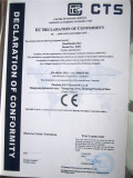 CE Certificate of distribution box
