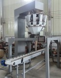 automatic weighing filling system for jar/container