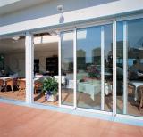 Top quality aluminium sliding glass doors