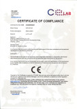 LEMA Limit Switch Limit Switch Certificate