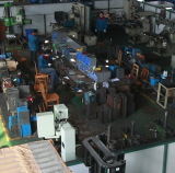 Mould assembly and maintainance line in house