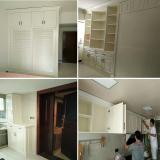white painting oak wood wardrobe kitchen cabinet shoes cabinet