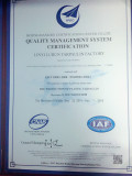 QUALITY MANAGERMENT SYSTEM CERTIFICATION