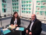 Meeting customer from Poland Fair