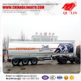 43000liters 3 compartments aluminum alloy fuel tank truck trailer for Kenya