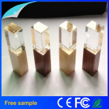 Free Logo Printing Crystal USB Flash Memory Stick 8GB