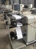 label slitting and rewinding machine