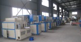 semi automatic blowing mould machine workshop