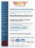 Coating Equipment ISO9001 Certificate