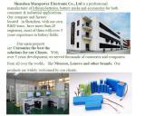 ODM/OEM manufacturer of lithium battery pack
