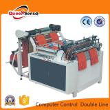 one line heat cutting bag making machine