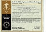 API5L Certificate