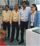 Clients visit exhibition