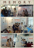 memory on the trade show with our customers