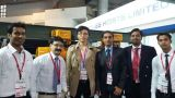 "BC India 2014 exhibition with india partner ""hercules hoist ltd----- New delhi"