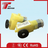 6V plastic gear permanent magnet DC motor for robotic toys