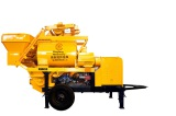 Maintenance skills of forced concrete mixing trailer pump