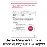 Sedex Certificate