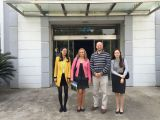 USA customer visit our factory