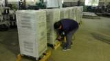SBW/DBW voltage stabilizer/regulator for packing preparing.