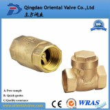 water gas oil vertical brass swing check valve