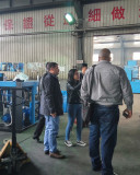 South American dealer visit our factory