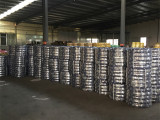 Tyres ready to ship in warehouse