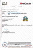 SGS Certifiacte No.:QIP-ASI165358