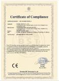 Energy Saving Lamp CE-LVDcertificate
