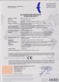 CE Certificate for Rewinding & Slitting Machine