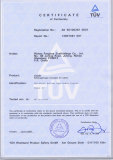 Products Certificate - EN74B