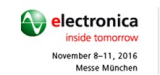 Electronica 2016.Messe Munchen