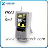 Handheld ETCO2 monitor with SPO2