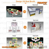 Design and real booth projects