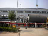 10Ton Pyrolisis Plant Loading /shifting for India