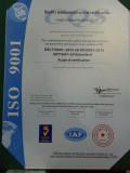 ISO9001:2015 Hengyu factory