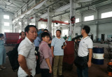 Thailand clients visited our factory