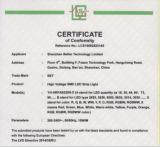 CE-LVD certificate for ac230v led strips