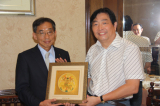 Japan Matsushita president and Mr. XU