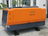 Skid mounted diesel air compressor delivered to Canada