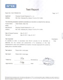 SVHC Test Report According To REACH