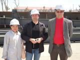 Steel building customer visit