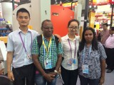 Our sales began cooperation with Clients from Sri Lanka at 115th Canton Fair