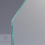 irregular glass polished edge