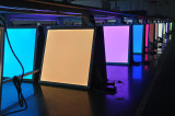 Colour LED panel light
